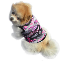 SMILE / CUTE Dog Shirt with Printed Design | Dog Clothes