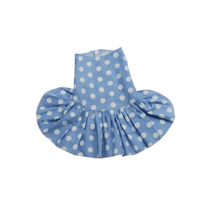 Polka Dot Dog Dress in Pink or Blue | Dog Clothes