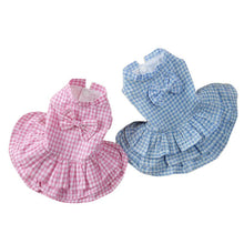 Pretty Blue or Pink Dog Dress | Dog Clothes