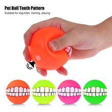Dog Novelty Teeth Ball | Chew Sound Dog Toy | Dog Accessories
