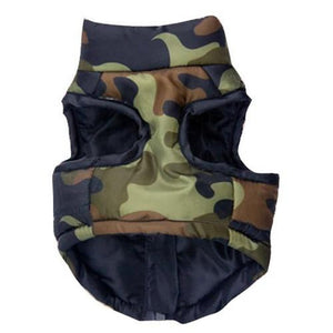 Camoflauge Winter Dog Coat / Jacket | Dog Clothes