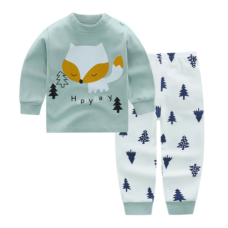 Autumn Woods Pajama Set