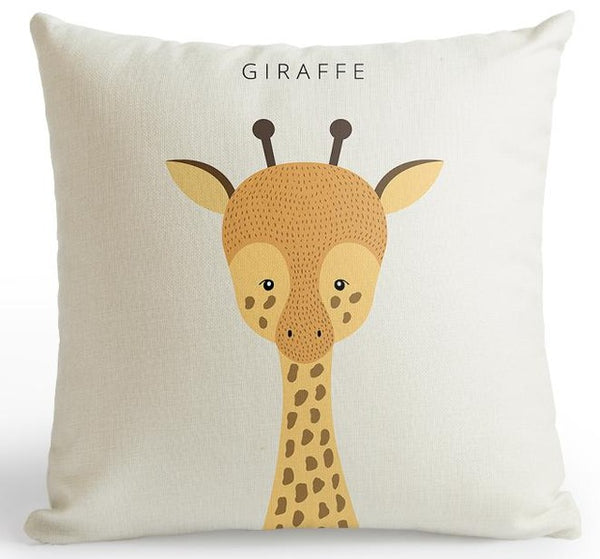 Cute Animal Pillow Cover(s)