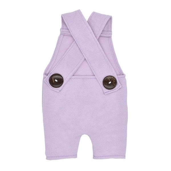 Newborn Photography Prop Button Overalls (variant boy & girl colors)