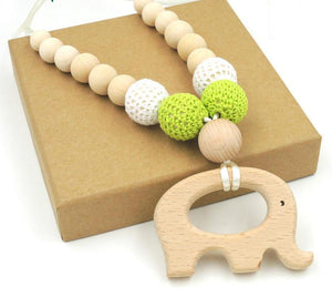 Elephant Teething Necklace