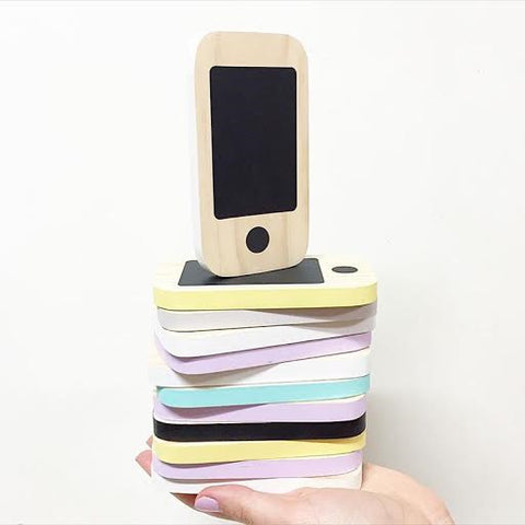Wooden Toy Phone