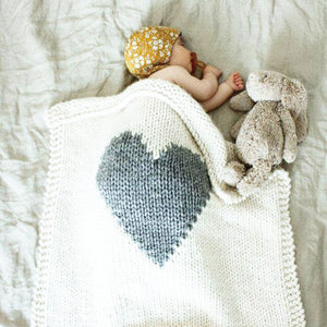 Heart Baby Swaddle Blankets