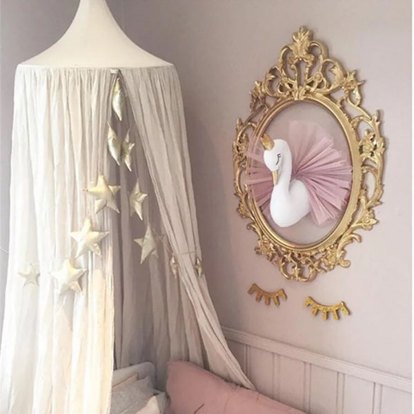 Nordic Swan Style Wall Decor