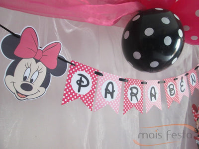 Kit de Festa Minnie Rosa