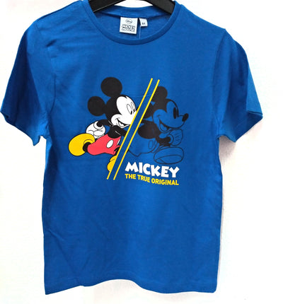 T-shirt Mickey Azul