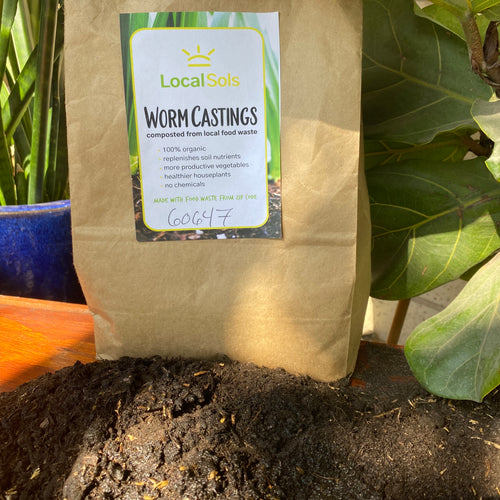 100% Organic Worm Castings (Money-Back Guarantee)