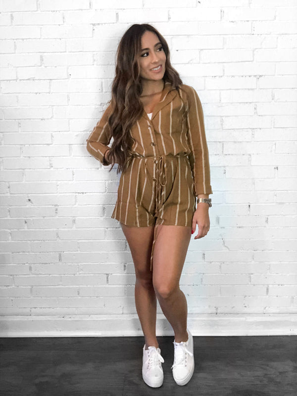 Carla Long Sleeve Romper