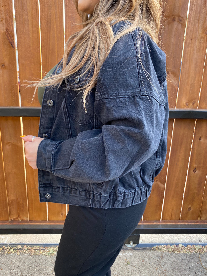 Relaxed Denim Jacket