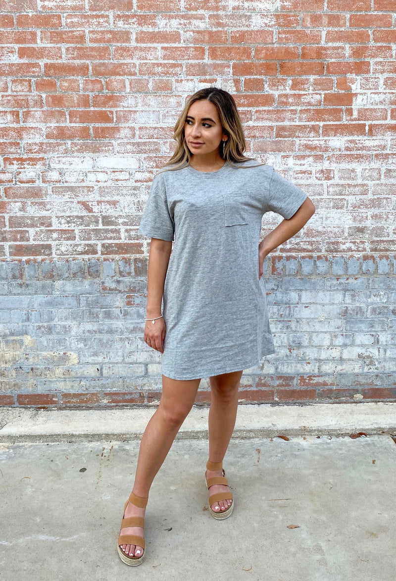 Grey Tunic Dress