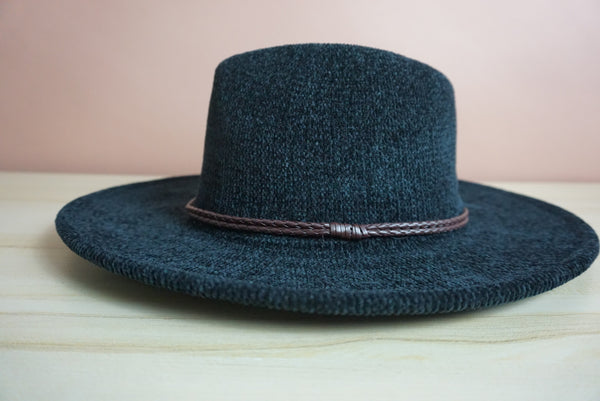 The Jess Fedora in black
