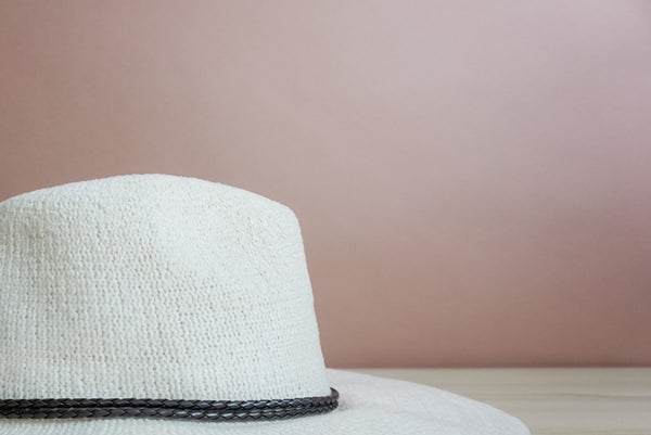 The Jess Fedora in cream