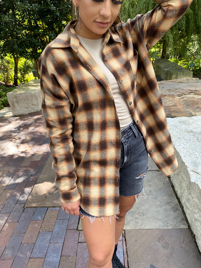 Ben Flannel in Brown