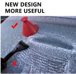 Magical Car Ice Scraper - HOT SALE🔥Miracle Snow Windshield Car Window Cone Ice Scraper