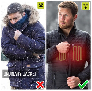 Electric Heated Vest Men Women Heating Waistcoat Thermal Warm Clothing Usb Heated Outdoor Vest Winter Heated Jacket