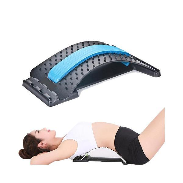 BACKRIGHT® LUMBAR RELIEF BACK STRETCHER - Back Stretch Equipment Massager Magic Stretcher Fitness Lumbar Support Relaxation Spine Pain Relief Corrector Health Care