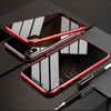 Privacy Magnetic Phone Case for iPhone & Android - Absorption iPhone X Xr 7 8 Samsung Galaxy tempered glass phone cover