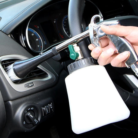 High Pressure Car Cleaning Tool Jet Tornado Cleaner Gun for Interior & Exterior