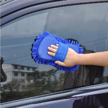 Load image into Gallery viewer, Microfiber Car Wash Glove