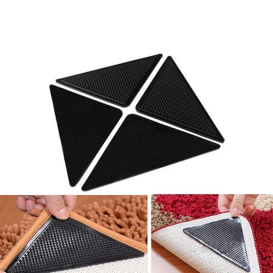 RUG™: Eco-friendly and Reusable Silicon Rug Grippers