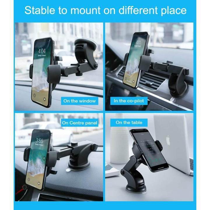 Holder™ Automatically Locking Windshield Phone Holder [UNIVERSAL FIT]