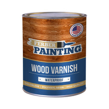 Wood varnish
