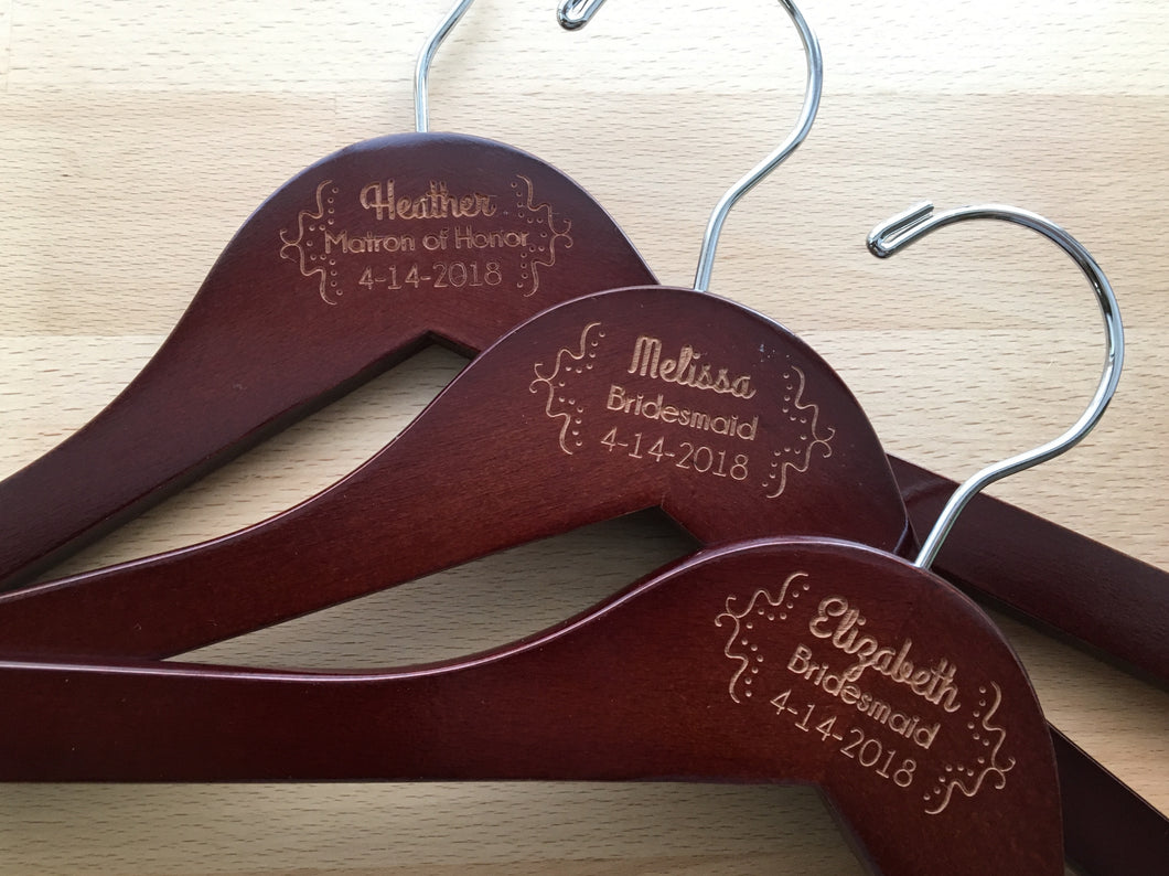 Austin Bridesmaid Hanger