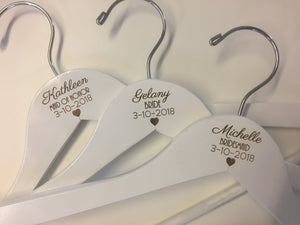 Hollywood Bridesmaid Hanger