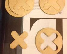 XO Tic Tac Toe Game Coasters - Duel Design Studio - 2