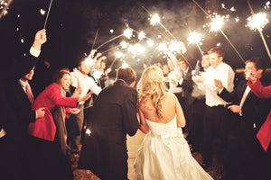 Wedding Sparkler Cards and Sign - Duel Design Studio - 4