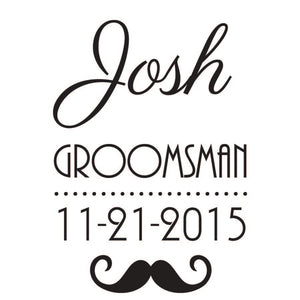 Hollywood Groomsman Hanger