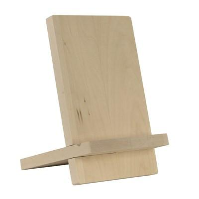 Solid Basswood 2 Piece Tablet Stand - Duel Design Studio - 1
