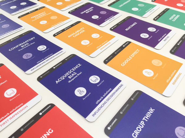 Cognitive Bias Cards - Designed By UX Psychologists At Sitback