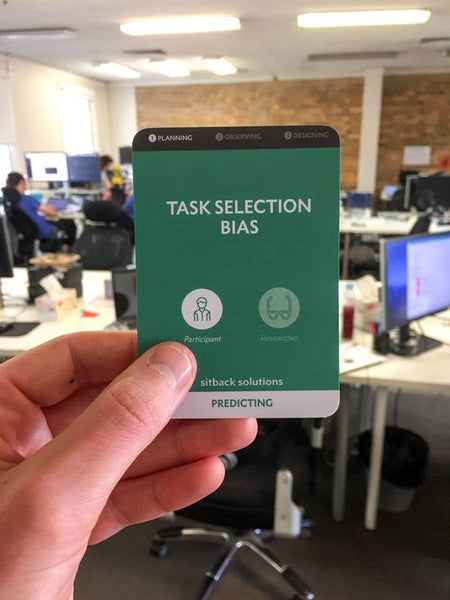 Task Selection Bias Card - from Sitback
