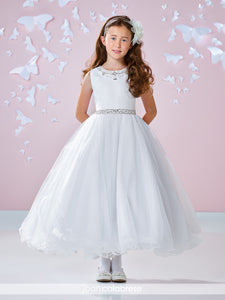 117344 Joan Calabrese Flower Girl / Communion Dress Size 8  and 10 In Stock NOW SAMPLE