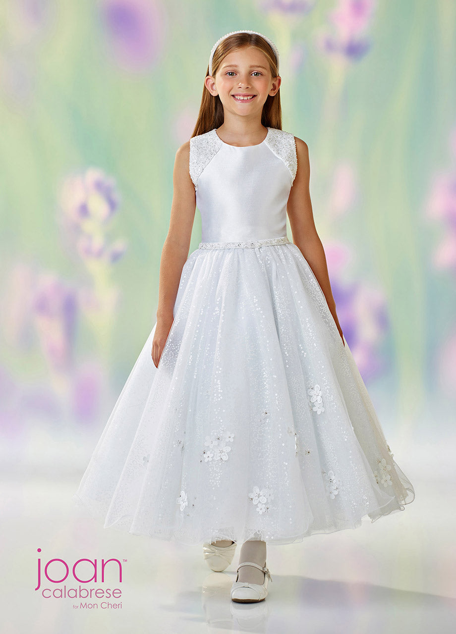 118314 Joan Calabrese Flower Girl / Communion Dress Size 7 and 8 In Stock NOW SAMPLE