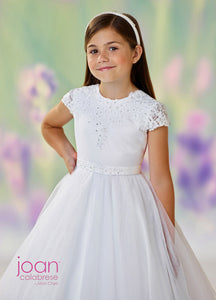 118330 Joan Calabrese Communion/Flower Girl Dress Sample Size 10