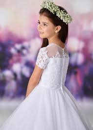 119375 Joan Calabrese Flower Girl/Communion Dress size 8 IN STOCK NOW