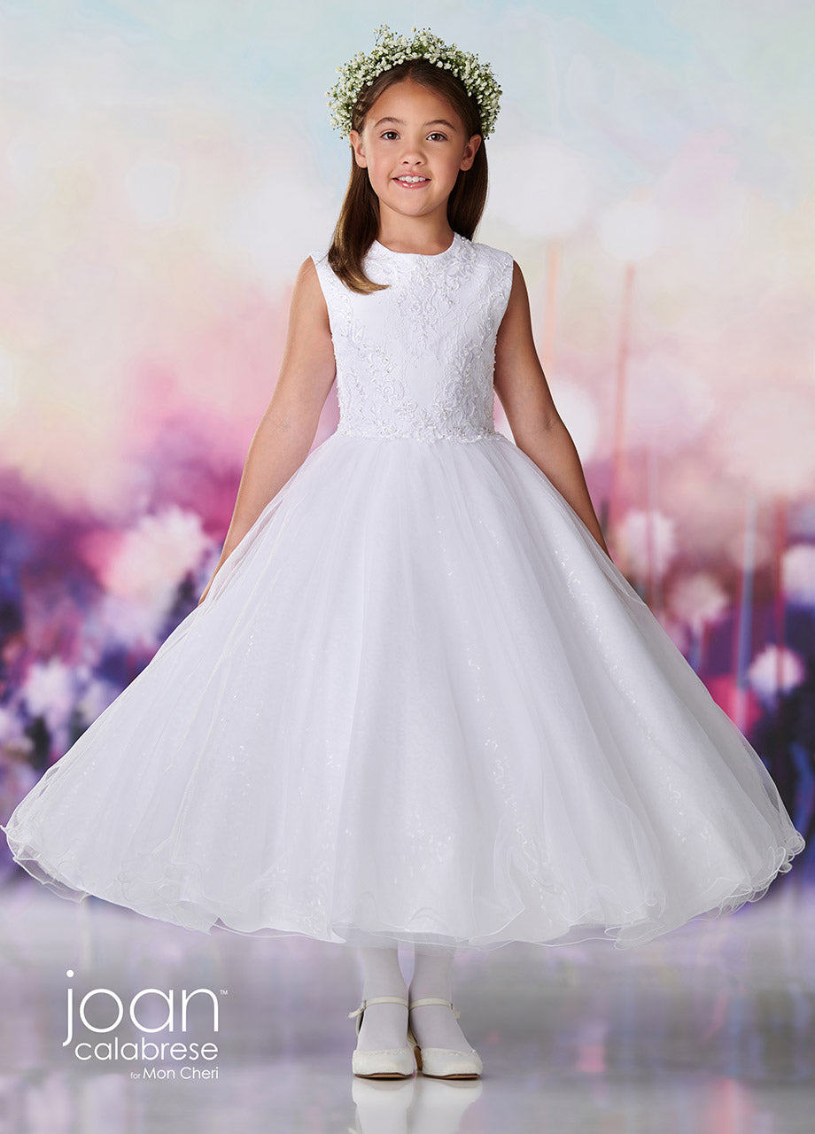 119378 Joan Calabrese Flower Girl/Communion Dress size 6 and 10 IN STOCK NOW