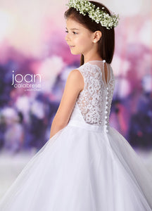 119395 Joan Calabrese Flower Girl/Communion Dress Size 7,8 and 10 IN STOCK NOW