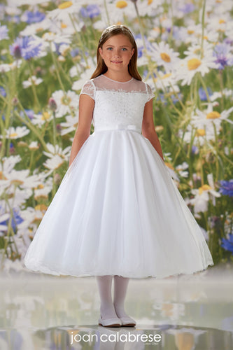 120335 Joan Calabrese Communion/Flower Girl Dress Size 10 in STOCK NOW