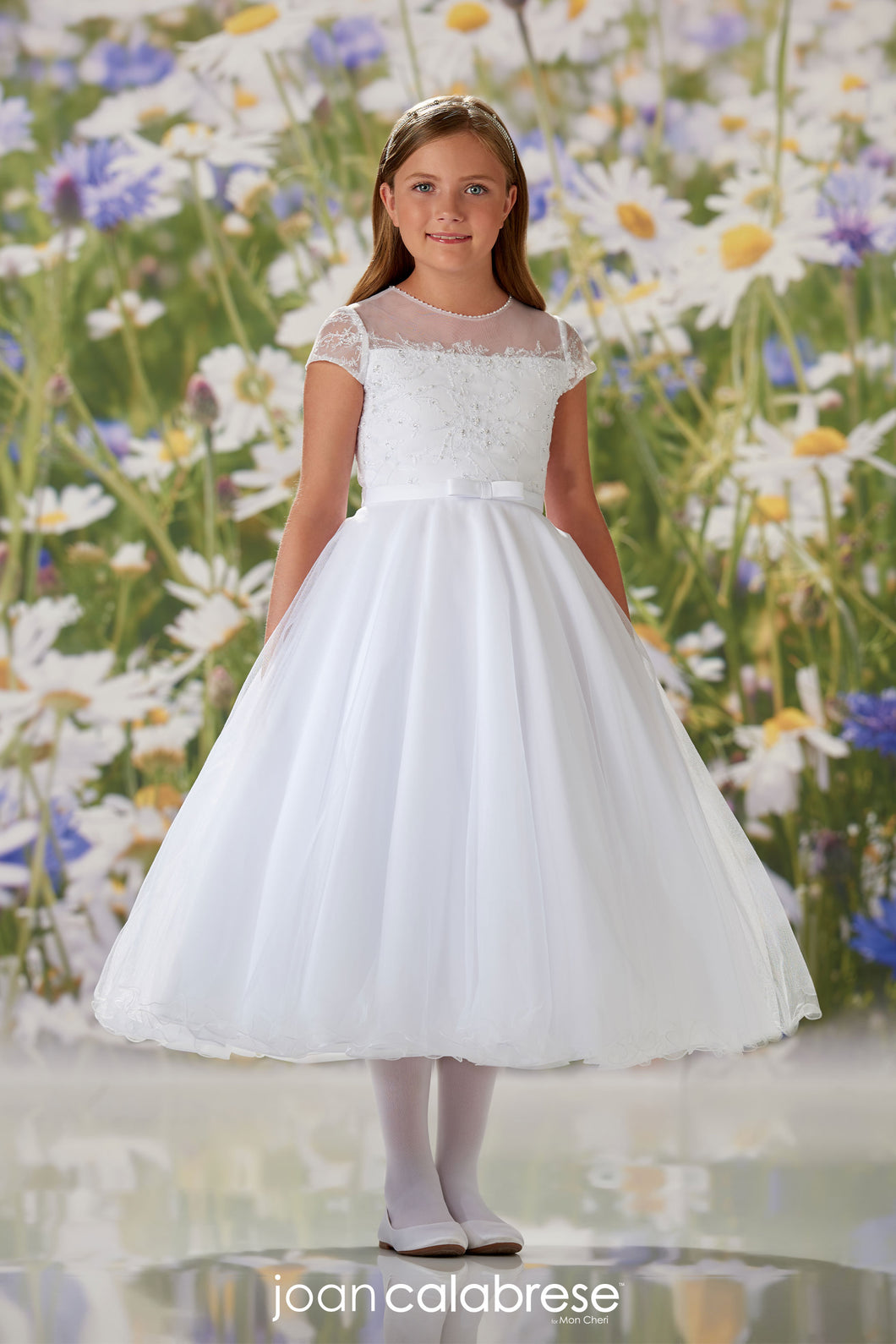 120335 Joan Calabrese Communion/Flower Girl Dress Size 8