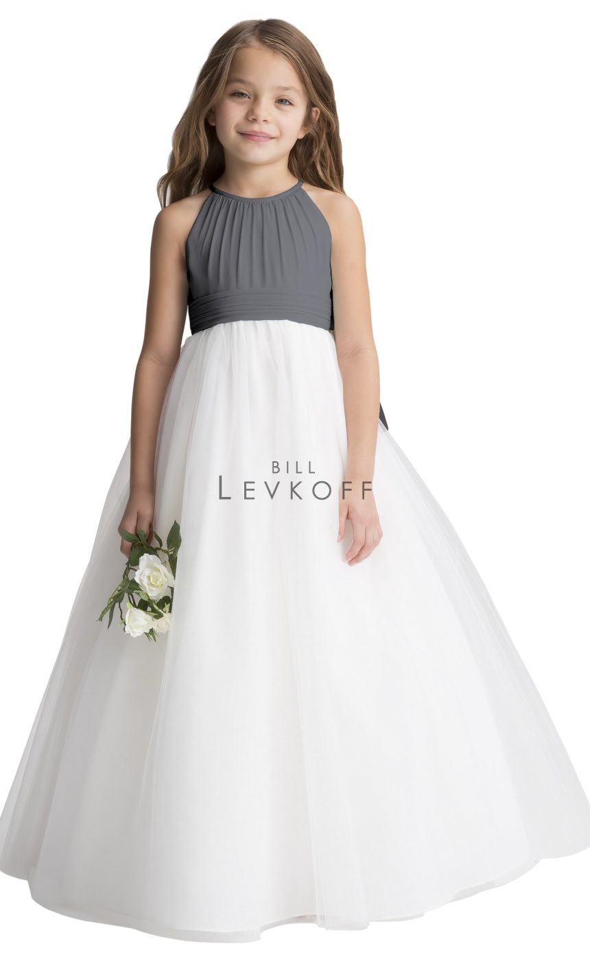 121401 Junior Bridesmaid Flower Girl Dress Bill Levkoff