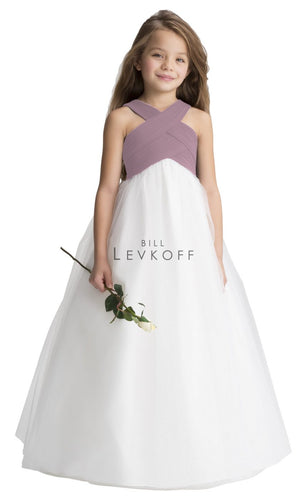 121801  Junior Bridesmaid Flower Girl Dress Bill Levkoff