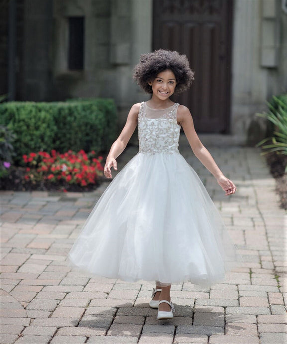 1805 Macis Design Communion / Flower Girl Dress Sample