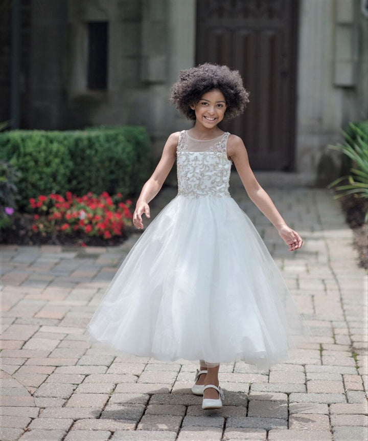 a21512e50b3 1805 Macis Design Communion   Flower Girl Dress Sample Size 8 – Tutu ...